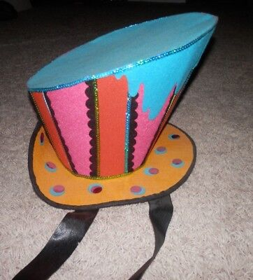 Katherine's Collection mad hatter themed hat for halloween cosplay /dress up fun