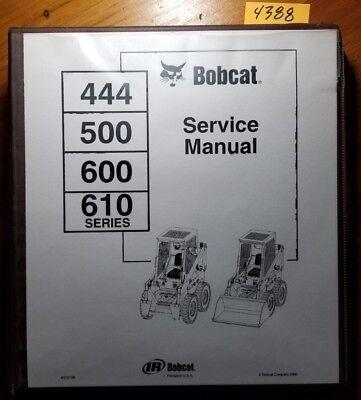 Heavy Equipment Parts & Accs - Bobcat 610