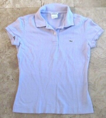 Misses size 36 Lacoste polo shirt