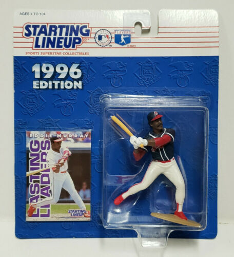 Figure /& Card Starting Lineup BALTIMORE ORIOLES 1988  EDDIE MURRAY SLU