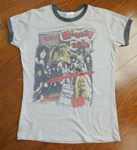 Unique Motley Crue T-shirt - Womens Small