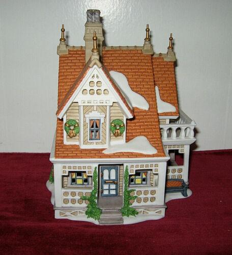 Dept 56 New England Village Bobwhite Cottage 1996 Dept 56 1990 Bobwhite Cottage