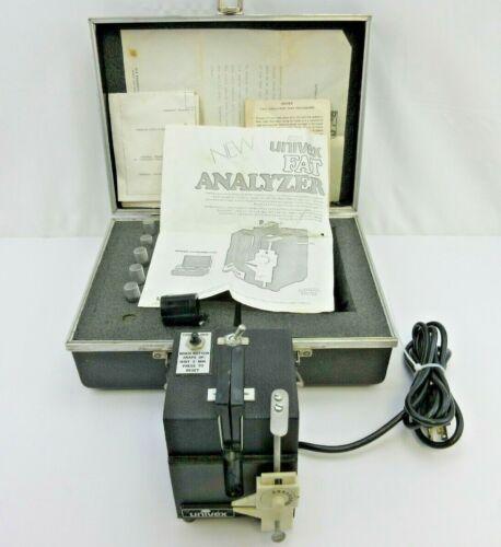 Univex FA-73 Ground Beef Fat Analyzer w/ Case & Vials