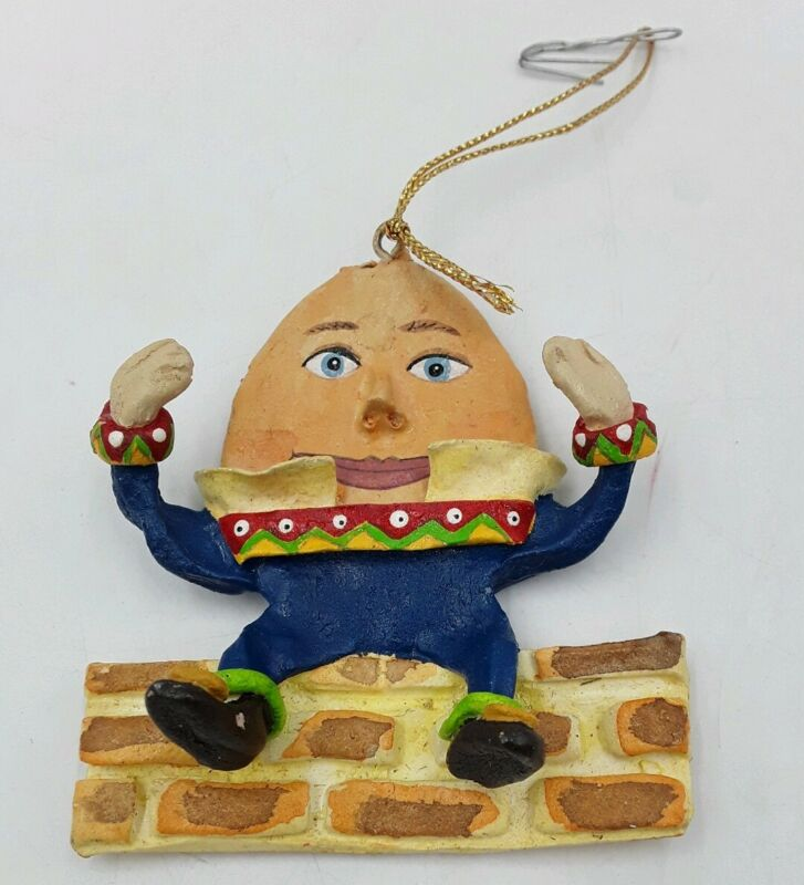 Vintage Adler Christmas Tree Ornament-Boncavage-Humpty dumpty Ornament