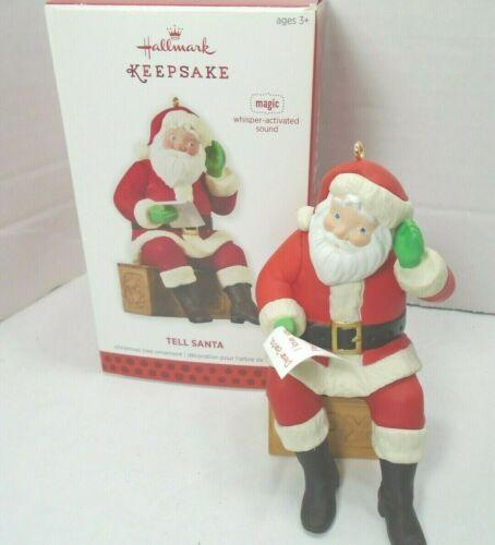 Hallmark Keepsake 2013 Tell Santa