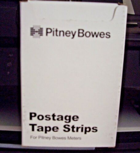 PITNEY BOWES 256 PERFORATED TAPES 620-9 128 DOUBLE SHEETS