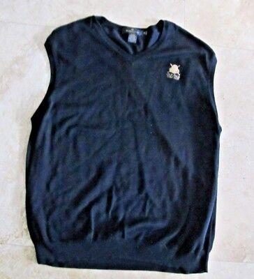 Mens size XL Bugatchi Uomo Pima cotton sweater vest