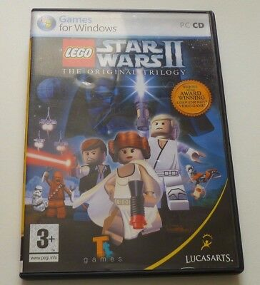 Used, LEGO STAR WARS II THE ORIGINAL TRILOGY PC GAME for sale  Shipping to Nigeria