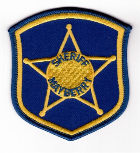 MAYBERRY SHERIFF Patch - Andy Griffith / Don Knotts