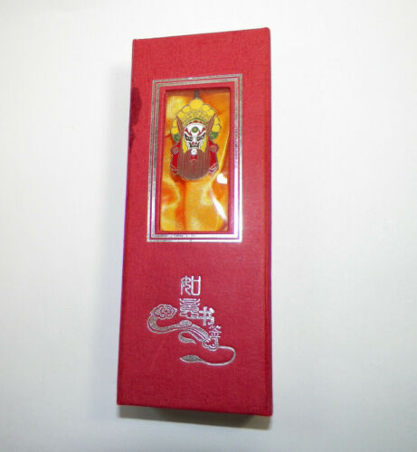 Chinese Mask LETTER OPENER/BOOKMARK W/Box FREE SHIP