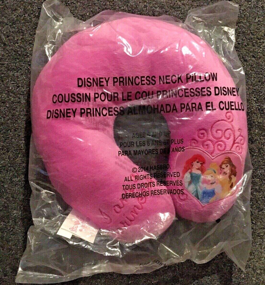 Disney PRINCESS Kids Girls HeadRest Neck Support Pillow Foam