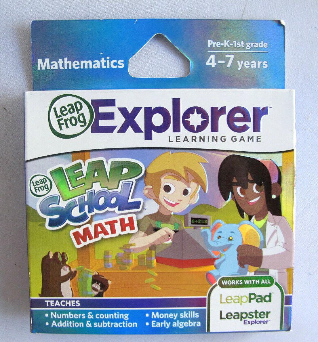 LeapFrog LeapSchool Math Learning Game