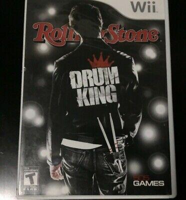 Rolling Stone: Drum King (Nintendo Wii, 2009) (Rolling Stone Drum)