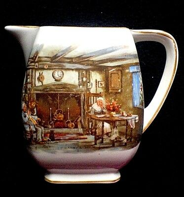 LANCASTER & SONS LTD ENGLISH WARE 5 inch DARBY AND JONES Pitcher Jug c1920