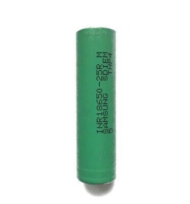 1 x Samsung Li-Ionen Akku | SDI INR18650 25R |  3,7V 2500mAh | ungeschützt