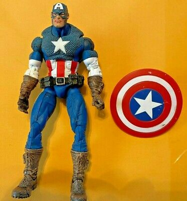 "Marvel Legends Toybiz Series 8 VIII Ultimate Captain America 6"""