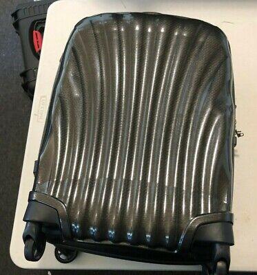 Samsonite Cosmolite BLACK Carry on Spinner Luggage 4-wheeled