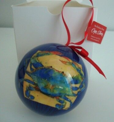- Cape Shore Ball Ornament Christmas, Holiday, Summer Memories Art, Collectible