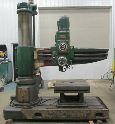 Hercules Radial Arm Drill 5 14-12 Arm 32 X 30 X 20 Table 44453lr