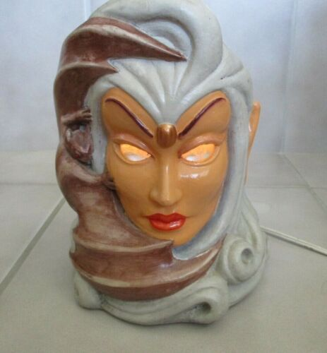 1986 Matchless Grove BATEEMA GM-7 Table Light Lamp Sculpture Marble Eyes Vintage