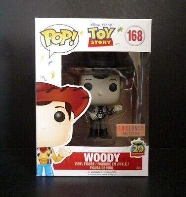 Funko Vinyl Figure Exclusive Toy Story Round Up Woody Black /& White POP POP