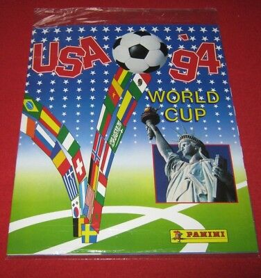 OFFICIAL LICENSED PANINI Album Reprint World Cup USA 94 Complete No Stickers WC