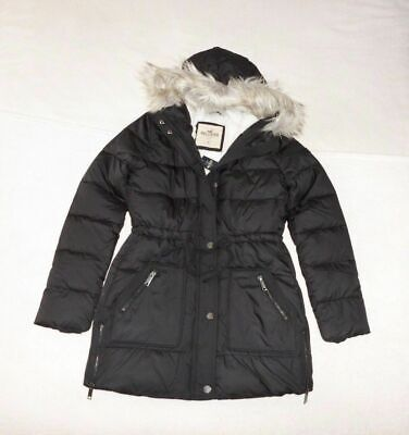 Womens Hollister by Abercrombie & Fitch Water Resistant Coat Jacket Size Small