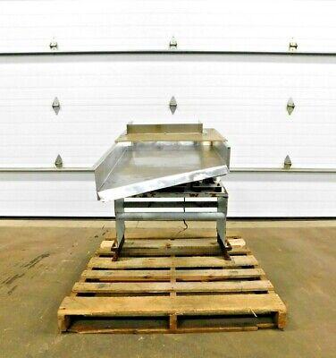 Mo-3983 Eriez Hs-42 Stainless Hi-vi Vibratory Feeder. 115 V. 1 Ph. 60 Hz.