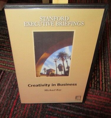 STANFORD EXECUTIVE BRIEFINGS: CREATIVITY IN BUSINESS DVD W/ MICHAEL RAY, GUC