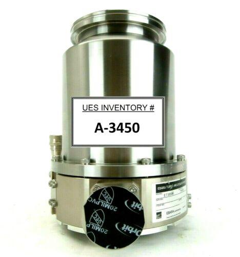 ET Ebara ET300W Turbomolecular Vacuum Pump Type 1 Turbo Tested Working