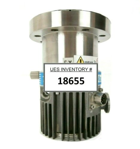 Turbo-V 70LP MacroTorr Varian 9699366 Turbomolecular Pump Turbo Tested Working