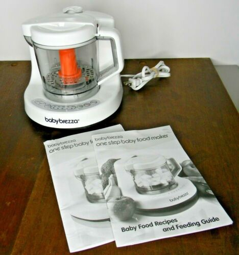 Baby Brezza Glass One Step Baby Food Maker with instructions & recipes