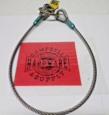 Ppe Lynard Fall Protection Harness 48 In. 3m Dbi-sala 5900550 Stainless Steel