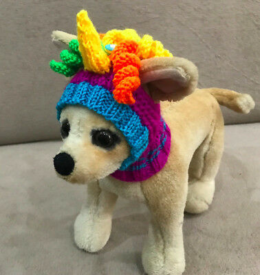 Pet Clothes Handmade Knit Outfit Halloween Hat  for Small Dog ](Dog Halloween Outfit)