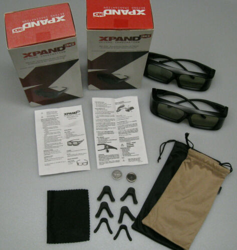 XPAND 3D GLASSES for ALL MITSUBISHI 3D AND 3D READY TVs P # 3DG-X103 - QTY. 2