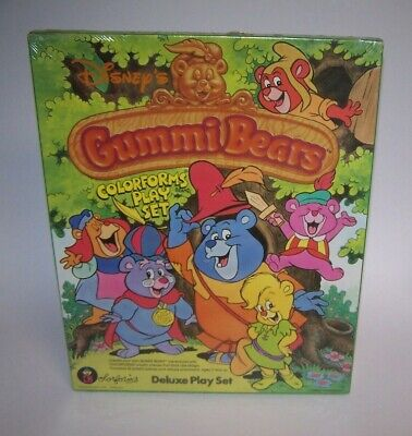 Gummy Bears Colorforms Deluxe Play Set MCM Walt Disney NIB Sealed