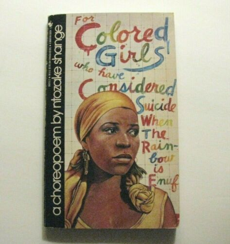 Ntozake Shange Signed *For Colored Girls Who Have Considered Suicide* Tony Award