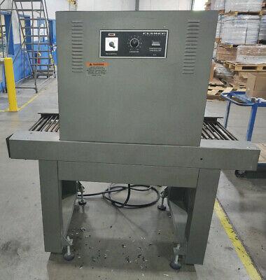 Clamco Heat Sealing Tunnel Shrink Wrap Machine Fair Condition