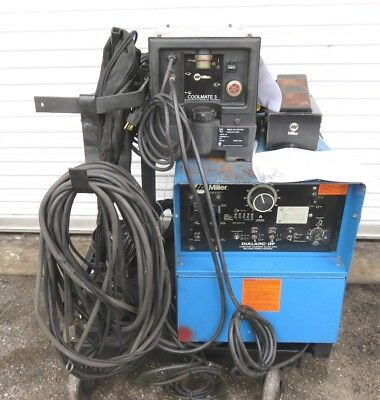 Miller Dialarc Hf Welder W Miller Coolmate 3 Kg-35 Foot Pedal And Accessary