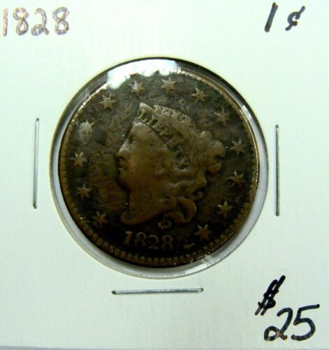 1828 CLASSIC HEAD LARGE CENT NICE TYPE COIN