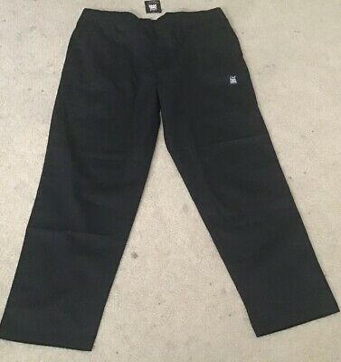 Chef Revival Chef Apparel 3X Black Pants New with Tags