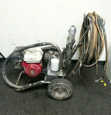 Titan Speeflo Powrtwin 8900 Ghd Convertible Hydraulic Airless Paint Sprayergas