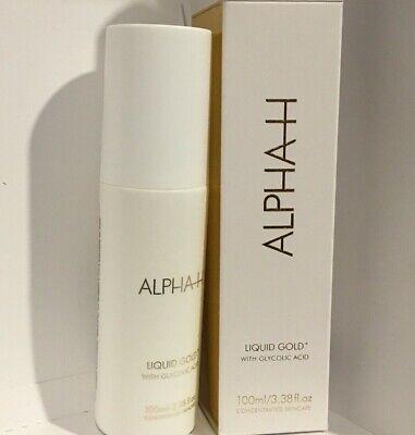 ALPHA H Liquid Gold With Glycolic Acid 3.38oz / 100ml NIB