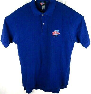 Vintage 1990's Planet Hollywood Honolulu Polo Shirt Men's Size (Blue Planet Honolulu)
