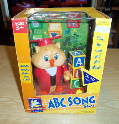 Professor Oliver Owl Abc Song Game With Nursery Rhyme Games 40839 Milton Bradley