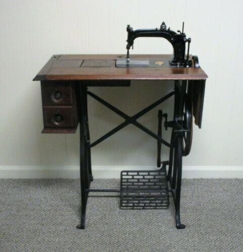 Antique 1870s WHEELER & WILSON #8 TREADLE SEWING MACHINE