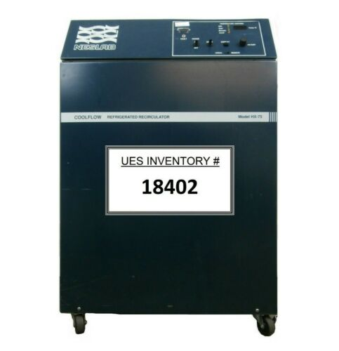 HX-75 Neslab 386104060208 Recirculating Chiller COOLFLOW Not Cooling As-Is