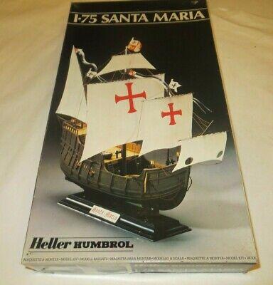 Heller Humbrol Santa Maria  1/75 scale ship Model Kit