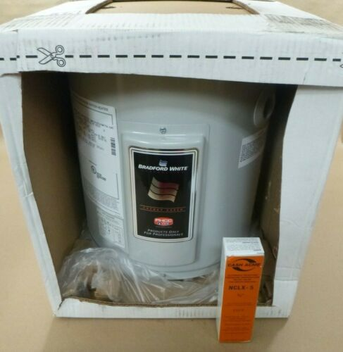 BRADFORD WHITE M1WH6U6SS-1NCL AUTOMATIC STORAGE WATER HEATER 6GAL / 22.7LITERS