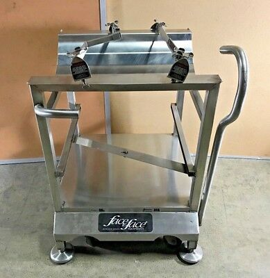 Deli Buddy Face To Face Slicer Stand Stainless Steel Cart